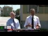 Obama Visits NOLA For Katrina Anniversary