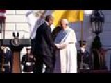 Obama Hails Pope Francis's Message Of 'love And Hope'