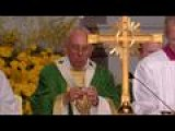 Open-air Mass Closes Pope's American Tour