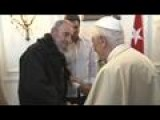 Pope Meets Fidel Castro After Havana Mass