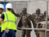 Paterno Statue Removed NCAA To Punish School