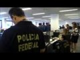Police From Footballing Countries Arrive In Brazil