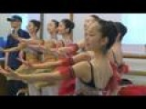 Paris Ballet Stars Give Master Class To Fukushima Students