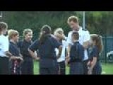 Prince Harry Gets Sporty