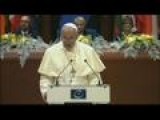 Pope Francis Urges 'haggard' Europe To Lead Again