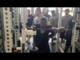 Penn State Football Weight Room Testing