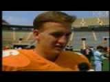 Peyton Manning's First Season At UT