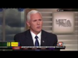 Pence, Trump Support Kennedy