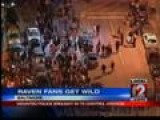 Riots In Baltimore After Ravens Win Super Bowl