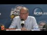 Raw Video: Jim Boeheim's Full Post-game News Conference