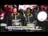 Razorbacks In The Rock Rally: Central High School Drumline