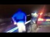 Raw: Trooper Saves Baby In Moving Car