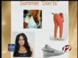 Summer Don't's For What To Wear