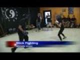 Shockwave Defense Holds Stick Fighting Workshop