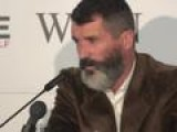 Stare Down! Roy Keane Interrupted By Mobile Phone AGAIN