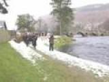 Scottish Ceremony Declares Salmon Fishing Season Open