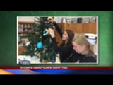 Students Create Surfin' Santa Tree: 11-30-15