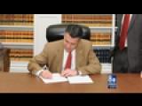Sandoval Signs Emergency Regulation Over Teacher Shortage