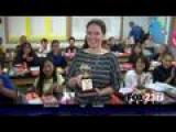 VIDEO: Math Teacher Wins First Golden Apple