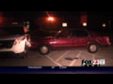 VIDEO: Rampage Through Police Lot Leads To Arrest