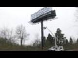 White Genocide Billboard Removed