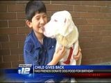 10-year-old Evans Boy Asks For Dog Food Instead Of Birthday Gifts