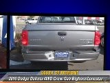 2010 Dodge Dakota 4WD Crew Cab Bighorn Lonestar - Acura Of Fremont, Fremont