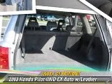 2003 Honda Pilot 4WD EX Auto W Leather - Acura Of Fremont, Fremont
