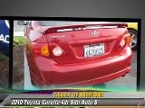 2010 Toyota Corolla 4dr Sdn Auto S - Acura Of Fremont, Fremont
