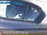 2012 Honda Civic Sdn LX - San Leandro Honda, Hayward Oakland Bay Area