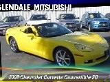 2009 Chevrolet Corvette Convertible - Glendale Mitsubishi, Glendale