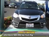2012 Acura RDX FWD 4dr Tech Pkg - Acura Of Fremont, Fremont