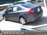 2012 Honda Civic LX - San Leandro Honda, Hayward Oakland Bay Area