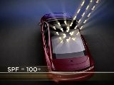 2013 Lincoln MKZ Panoramic Retractable Roof Animation