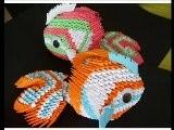 3D Origami Koi Fish