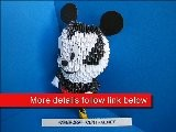 3D Origami Mickey Mouse