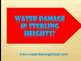Sterling Heights MI Water Damage Company