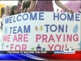 5pm: Welcoming Toni Home