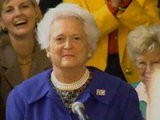 Biography Barbara Bush: First Mom