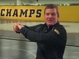 8 Essentials Of Wrestling: Coach Gable-Brands On Back Step
