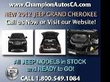 New JEEP GRAND CHEROKEE Anaheim, Orange County, Norwalk, Downey - 2012 SUV - Call 1.800.549.1084