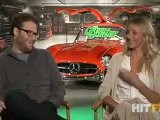The Green Hornet - Seth Rogen And Cameron Diaz