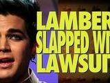 Adam Lambert Gets Sued