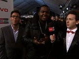 American Music Awards Sean Kingston - On The Red Carpet