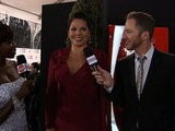 American Music Awards Sara Ramirez - On The Red Carpet