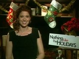 A Christmas Message From Debra Messing