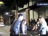 Adam Lambert & Lauren Conrad Leave Katsuya