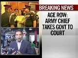Age Row: Army Chief VK Singh Takes The Government To Court