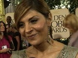 Award Season Golden Globe Awards 2012: Callie Thorne Of Necessary Roughness