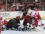 Anaheim Ducks Vs Detroit Red Wings 02.10.2012 Highlights